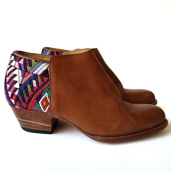 HOST PICK Lidog | Western Boots Aztec Embroidery